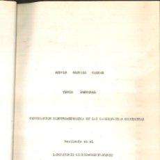 Libros de segunda mano: CORRELACIÓN ELECTRO-DINÁMICA EN LAS CARDIOPATIAS CONGÉNITAS. ANDRÉS SÁNCHEZ CASCOS. Lote 115926183