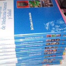 Libros de segunda mano: ENCICLOPEDIA DE MEDICINA NATURAL Y SALUD-10 TOMOS OBRA COMPLETA-EDICIONES RUEDA-2006. Lote 116213627