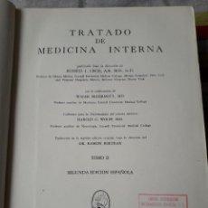 Libros de segunda mano: TRATADO DE MEDICINA INTERNA. TOMO II. 2ª EDICION ESPAÑOLA.EDITORIAL INTERAMERICANA . MEXICO 1950. Lote 116287475