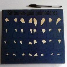 Libros de segunda mano: SÍNTOMAS GUÍA PULMONARES - LIBRO DE MEDICINA - SALUD - PULMONES ENFERMEDADES - TAPA DURA ILUSTRADO. Lote 116595059
