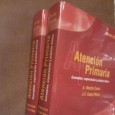 Libros de segunda mano: LIBROS MEDICINA - ATENCIÓN PRIMARIA CONCEPTOS ORGANIZACIÓN Y PRÁCTICA CLÍNICA MARTÍN ZURRO Y CANO PÉ. Lote 116973295