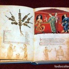 Libros de segunda mano: FACSÍMIL DEL CÓDICE DE MEDICINA CON LA SIGNATURA 93 DE LA BIBLIOTECA NACIONAL DE AUSTRIA (S. XIV). Lote 163712890