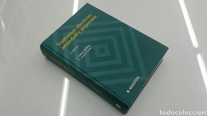 TRASTORNOS AFECTIVOS : ANSIEDAD Y DEPRESION MASSON 2000 PSIQUIATRIA NUEVO (Libros de Segunda Mano - Ciencias, Manuales y Oficios - Medicina, Farmacia y Salud)