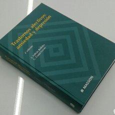 Libros de segunda mano: TRASTORNOS AFECTIVOS : ANSIEDAD Y DEPRESION MASSON 2000 PSIQUIATRIA NUEVO. Lote 117306232