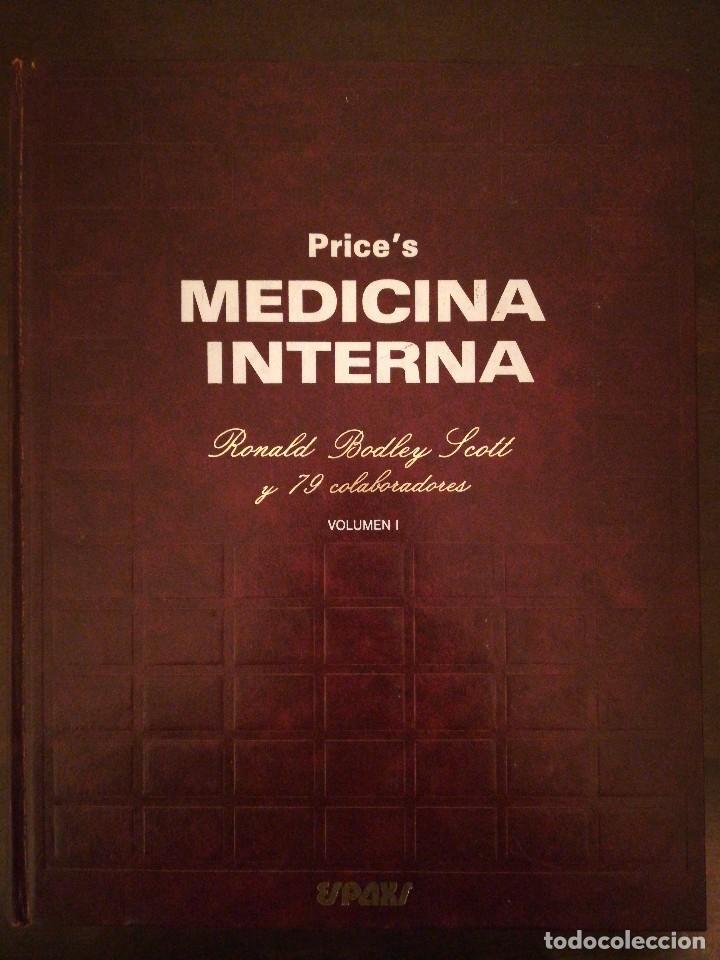 LIBRO PRINCE'S, MEDICINA INTERNA - VOLUMEN I - SIR RONALD BOLEY SCOTT - ESPAXS EDICIONES (Libros de Segunda Mano - Ciencias, Manuales y Oficios - Medicina, Farmacia y Salud)