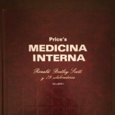 Libros de segunda mano: LIBRO PRINCE'S, MEDICINA INTERNA - VOLUMEN I - SIR RONALD BOLEY SCOTT - ESPAXS EDICIONES. Lote 117331147