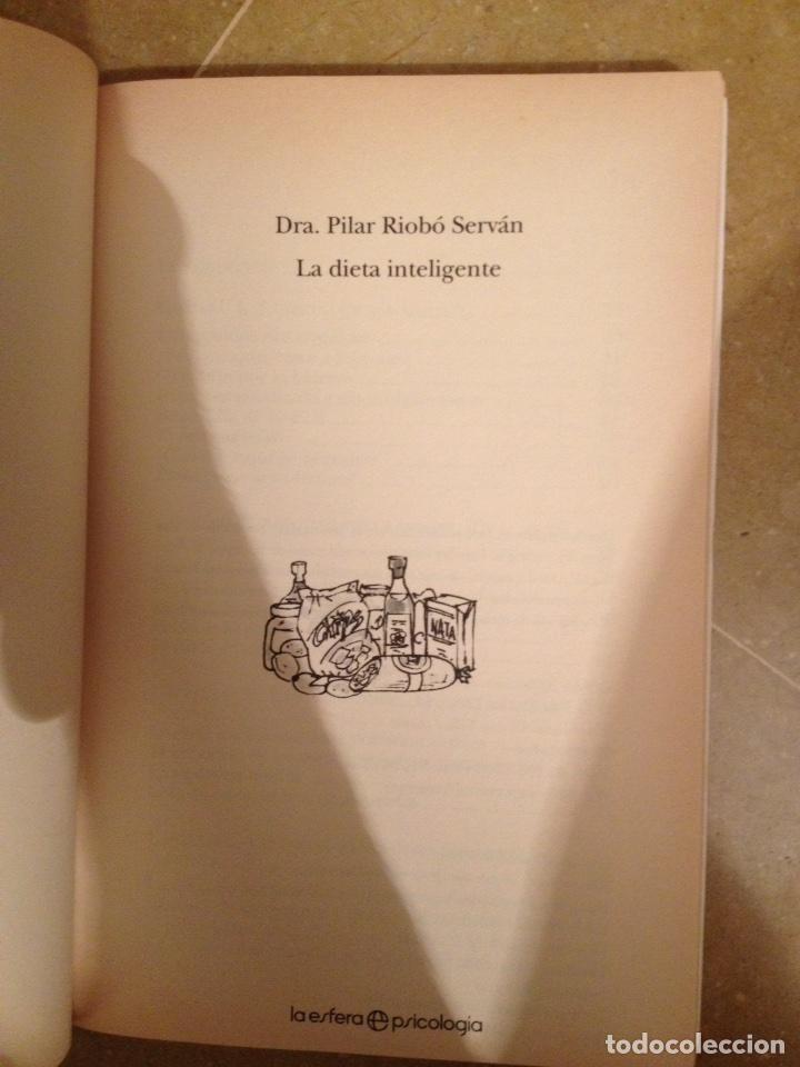 Libros de segunda mano: La dieta inteligente (Dra. Pilar Riobó Serván) - Foto 2 - 117868454