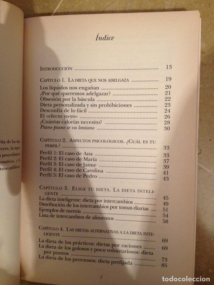 Libros de segunda mano: La dieta inteligente (Dra. Pilar Riobó Serván) - Foto 3 - 117868454