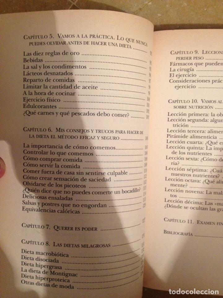 Libros de segunda mano: La dieta inteligente (Dra. Pilar Riobó Serván) - Foto 4 - 117868454