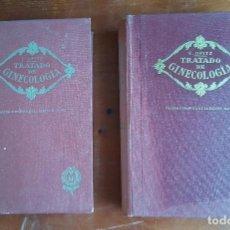Libros de segunda mano: TRATADO DE GINECOLOGÍA AÑO 1937. 2 TOMOS, E. OPITZ. EDITORIAL MODESTO USÓN.. Lote 117909559