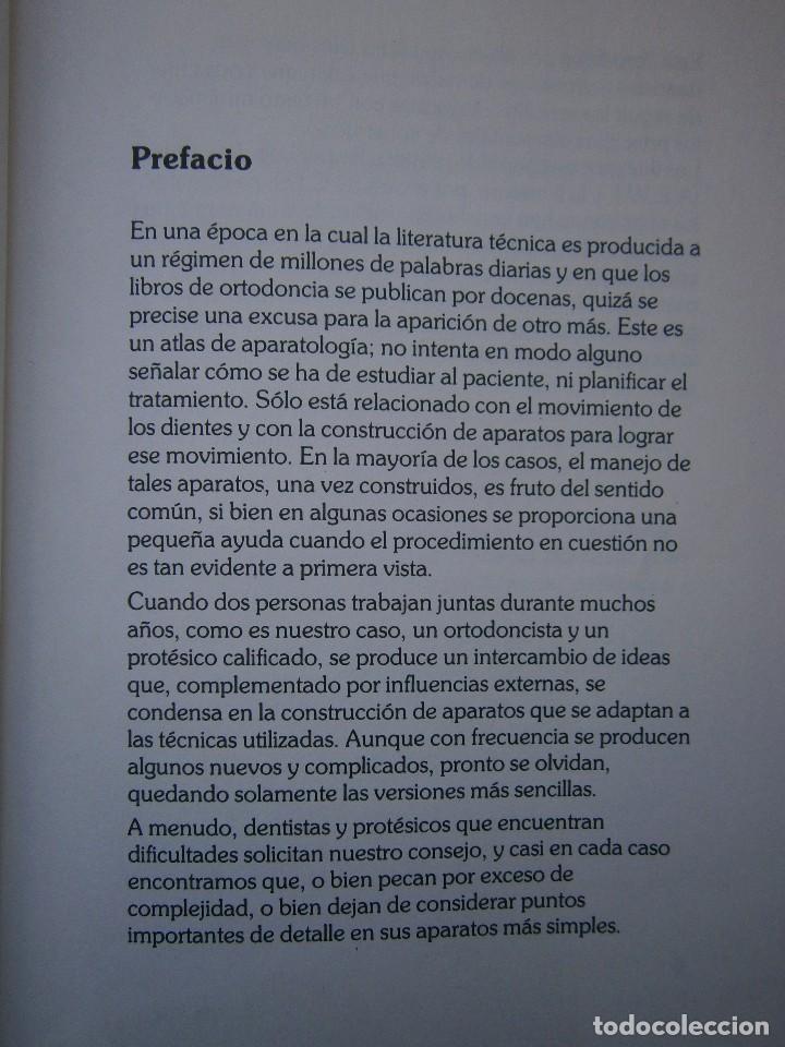 Libros de segunda mano: ATLAS DE APARATOLOGIA ORTODONCICA REMOVIBLE Gordon Dickson Albert Wheatly Salvat 1982 - Foto 9 - 117953503