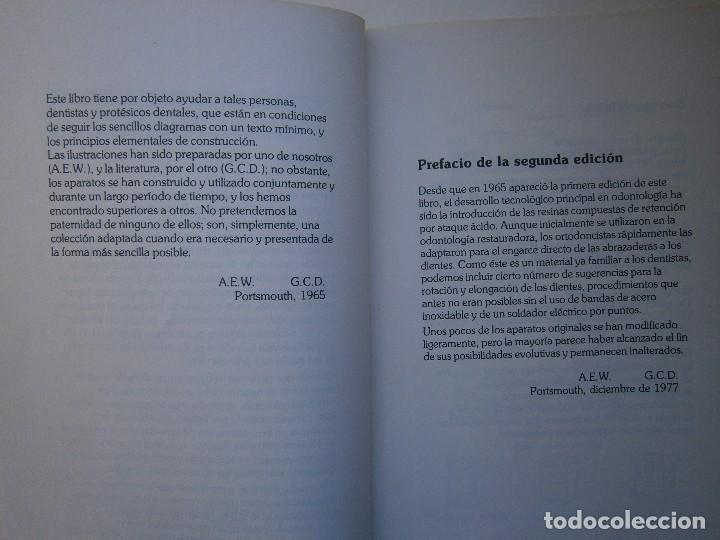 Libros de segunda mano: ATLAS DE APARATOLOGIA ORTODONCICA REMOVIBLE Gordon Dickson Albert Wheatly Salvat 1982 - Foto 10 - 117953503