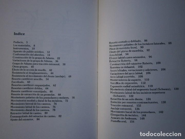 Libros de segunda mano: ATLAS DE APARATOLOGIA ORTODONCICA REMOVIBLE Gordon Dickson Albert Wheatly Salvat 1982 - Foto 21 - 117953503