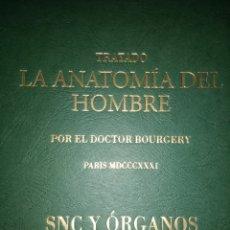 Libros de segunda mano: TRATADO. LA ANATOMÍA DEL HOMBRE. POR EL DOCTOR BOURGERY. PARIS MDCCCXXXI. SNC Y ÓRGANOS DE LOS SENTI. Lote 118435600