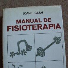Libros de segunda mano: MANUAL DE FISIOTERAPIA. EDICIÓN REVISADA CON CAPÍTULOS ADICIONALES POR MCOLABORADORES ESPECIALISTAS.. Lote 118436363