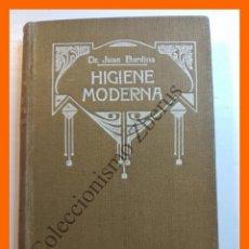 Libros de segunda mano: HIGIENE MODERNA. MANUAL HISPANOAMERICANO - DR. JUAN BARDINA. Lote 118880059