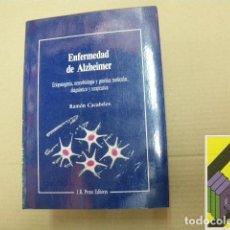 Libros de segunda mano: CACABELOS, RAMÓN: ENFERMEDAD DE ALZHEIMER .... Lote 118889539