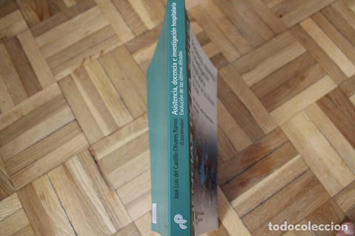Libros de segunda mano: Libro ASISTENCIA, DOCENCIA E INVESTIGACIÓN HOSPITALARIA, José Luis del Castillo- Olivares, Ed. Arece - Foto 3 - 119050375