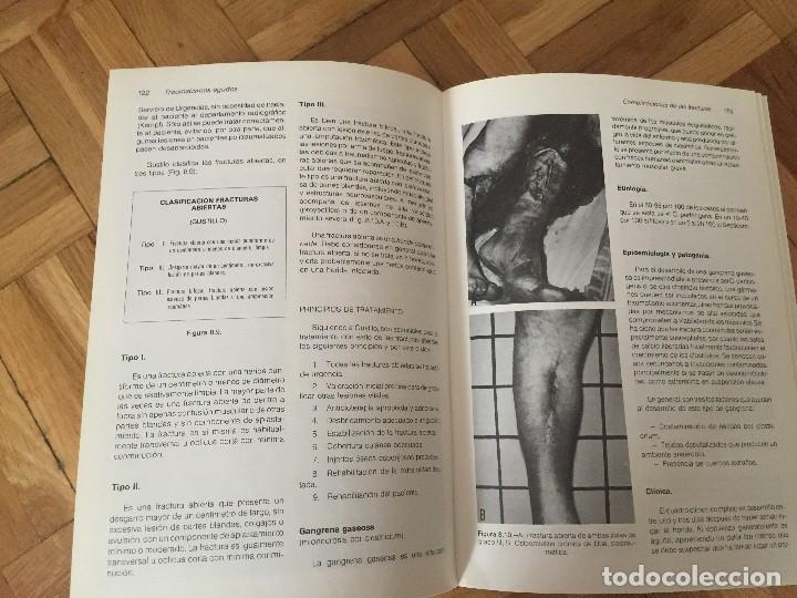 Libros de segunda mano: Libro TRAUMATISMOS AGUDOS, M.M. Sánchez Martín y muchos más, Universidad de Valladolid. - Foto 7 - 119051651