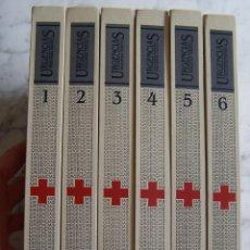 Libros de segunda mano: URGENCIAS. ENCICLOPEDIA PRÁCTICA DE PRIMEROS AUXILIOS. CRUZ ROJA- MARÍN. 6 TOMOS, 1986... Lote 119076691
