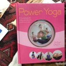 Libros de segunda mano: POWER YOGA. Lote 119533867