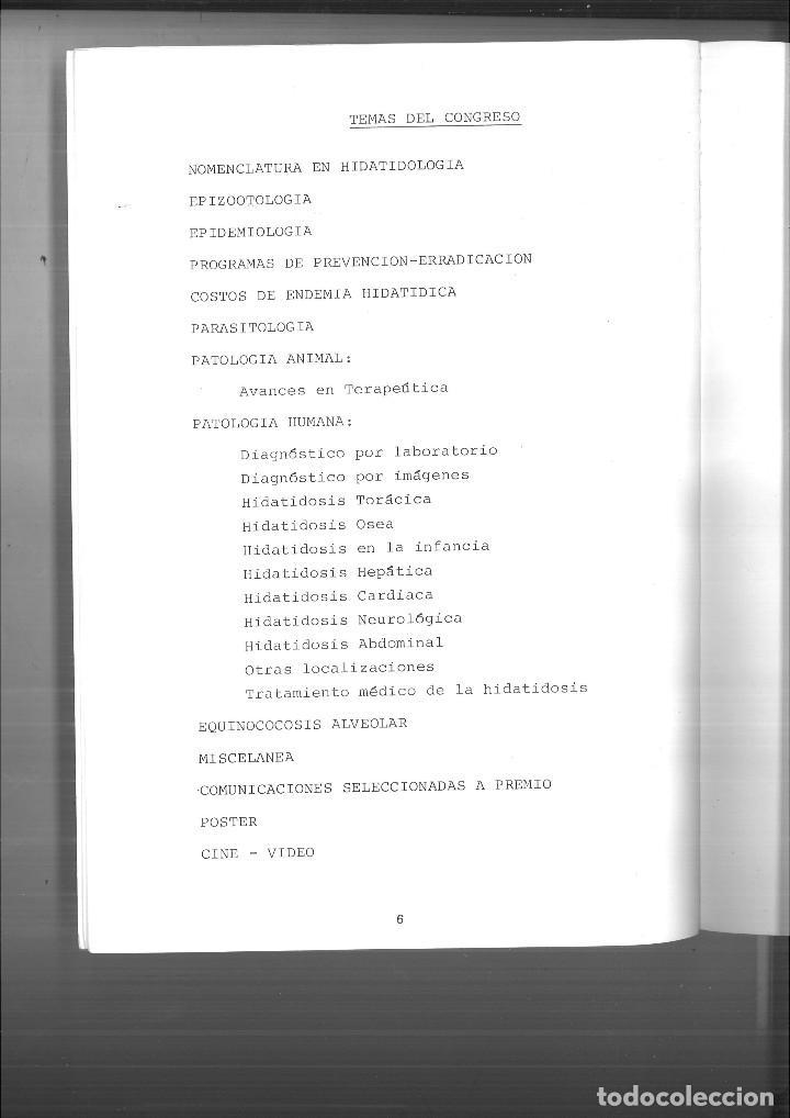 Libros de segunda mano: XIII CONGRESO INTERNACIONAL DE HIDATIDOLOGÍA. RESUMEN DE LAS COMUNICACIONES ABSTRACTS. - Foto 2 - 120018979