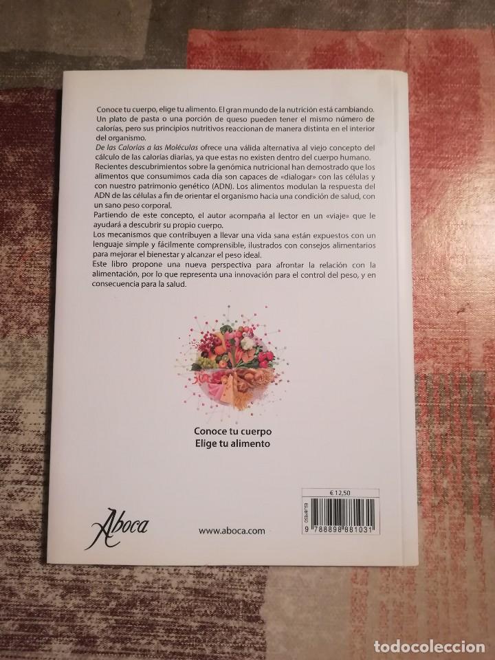 Libros de segunda mano: De las calorías a las moléculas. El nuevo horizonte en el control del peso - Pier Luigi Rossi - Foto 2 - 171611809
