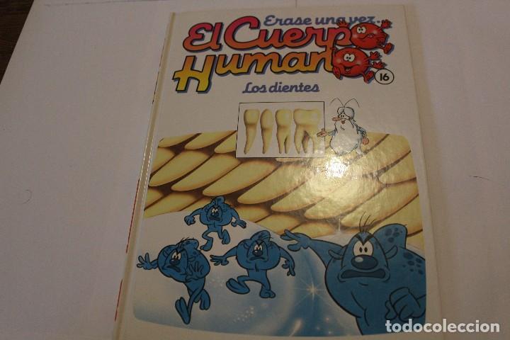 LIBRO ERASE UNA VEZ EL CUERPO HUMANO, VOLUMEN 16 (Libros de Segunda Mano - Ciencias, Manuales y Oficios - Medicina, Farmacia y Salud)