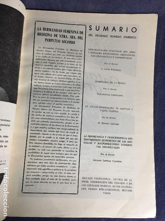 Libros de segunda mano: 4 BOLETIN CULTURAL E INFORMATIVO CONSEJO GENERAL DE COLEGIOS MEDICOS DE ESPAÑA ENE FEB 1963 - Foto 9 - 121103027
