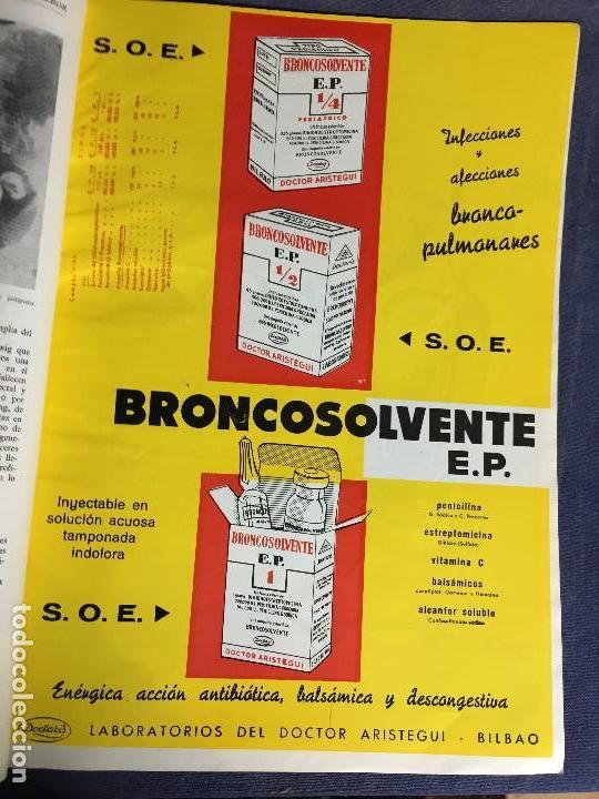 Libros de segunda mano: 4 BOLETIN CULTURAL E INFORMATIVO CONSEJO GENERAL DE COLEGIOS MEDICOS DE ESPAÑA ENE FEB 1963 - Foto 10 - 121103027