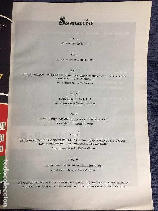 Libros de segunda mano: 4 BOLETIN CULTURAL E INFORMATIVO CONSEJO GENERAL DE COLEGIOS MEDICOS DE ESPAÑA ENE FEB 1963 - Foto 14 - 121103027