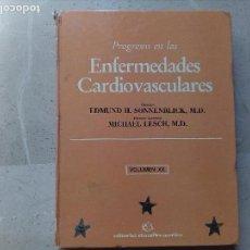 Libros de segunda mano: CONJUNTO DE DOS LIBROS DE CARDIOLOGIA, UNO EN ESPAÑOL Y UNO EN INGLÉS.. Lote 121232963