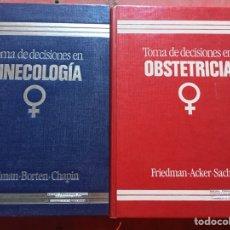 Libros de segunda mano: TOMA DE DECISIONES EN GINECOLOGÍA Y OBSTETRICIA 1989-90 ROUSSEL IBÉRICA. Lote 121709307