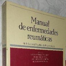 Libros de segunda mano: MANUAL DE ENFERMEDADES REUMATICAS, DE LA SOCIEDAD ESPAÑOLA DE REUMATOLOGIA. Lote 122153147