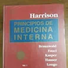 Libros de segunda mano: PRINCIPIOS DE MEDICINA INTERNA VOLUMEN I. HARRISON. AÑO 2002. Lote 122720383