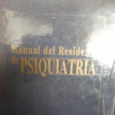 Libros de segunda mano: MANUAL DEL RESIDENTE DE PSIQUIATRA. 2 VOLÚMENES (CON ESTUCHE).. Lote 122952631