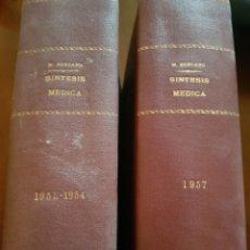 Libros de segunda mano: SÍNTESIS MÉDICA SORIANO VOLUMEN 9 Y 10. Lote 123499735
