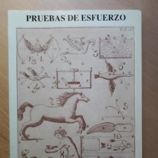 Libros de segunda mano: PRUEBAS DE ESFUERZO. - VV.AA.. Lote 123543711