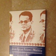 Libros de segunda mano: JOAN IGNASI VALENTÍ I MARROIG. PSIQUIATRIA I EDUCACIÓ A MALLORCA (1900 - 1936) ALEXANDRE GARCIA. Lote 123553931