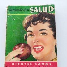 Libros de segunda mano: REVISTA DE LA SALUD DIENTES SANOS (1955). Lote 124207547