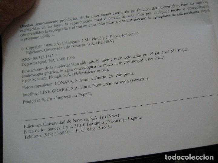 Libros de segunda mano: TERAPÉUTICA FARMACOLÓGICA DE LAS ENFERMEDADES DEL APARATO DIGESTIVO-medicina - Foto 5 - 177088509