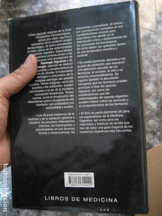 Libros de segunda mano: TERAPÉUTICA FARMACOLÓGICA DE LAS ENFERMEDADES DEL APARATO DIGESTIVO-medicina - Foto 3 - 177088509