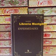 Libros de segunda mano: ENFERMEDADES . AUTOR : GALENO . Lote 125267335