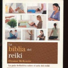 Libros de segunda mano: LA BIBLIA DEL REIKI. ED. GAIA 2013. Lote 125423471