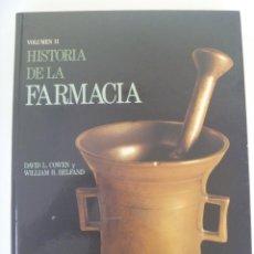 Libros de segunda mano: HISTORIA DE LA FARMACIA , VOLUMEN II , DE COWEN Y HELFAND ... ENORME LIBRO DE LUJO DE ED. DOYMA. Lote 126130071