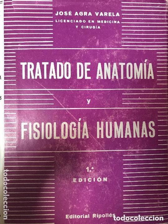 antiguo libro tratado anatomía y fisiologia hum - Comprar Libros de ...