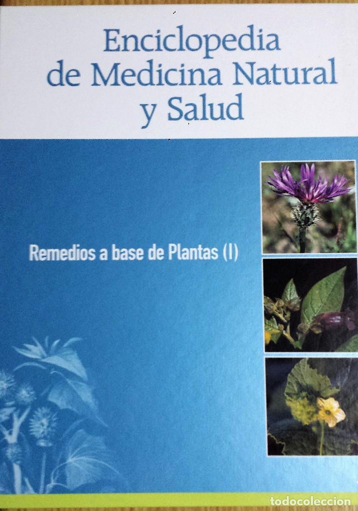 ENCICLOPEDIA DE MEDICINA NATURAL Y SALUD 2 TOMOS (Libros de Segunda Mano - Ciencias, Manuales y Oficios - Medicina, Farmacia y Salud)