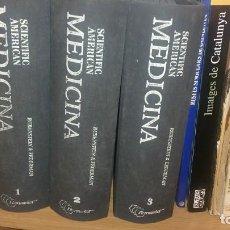 Libros de segunda mano: 3 TOMOS MEDICINA SCIENTIFIC AMERICAN RUBENSTEIN FEDERMAN. Lote 127868371