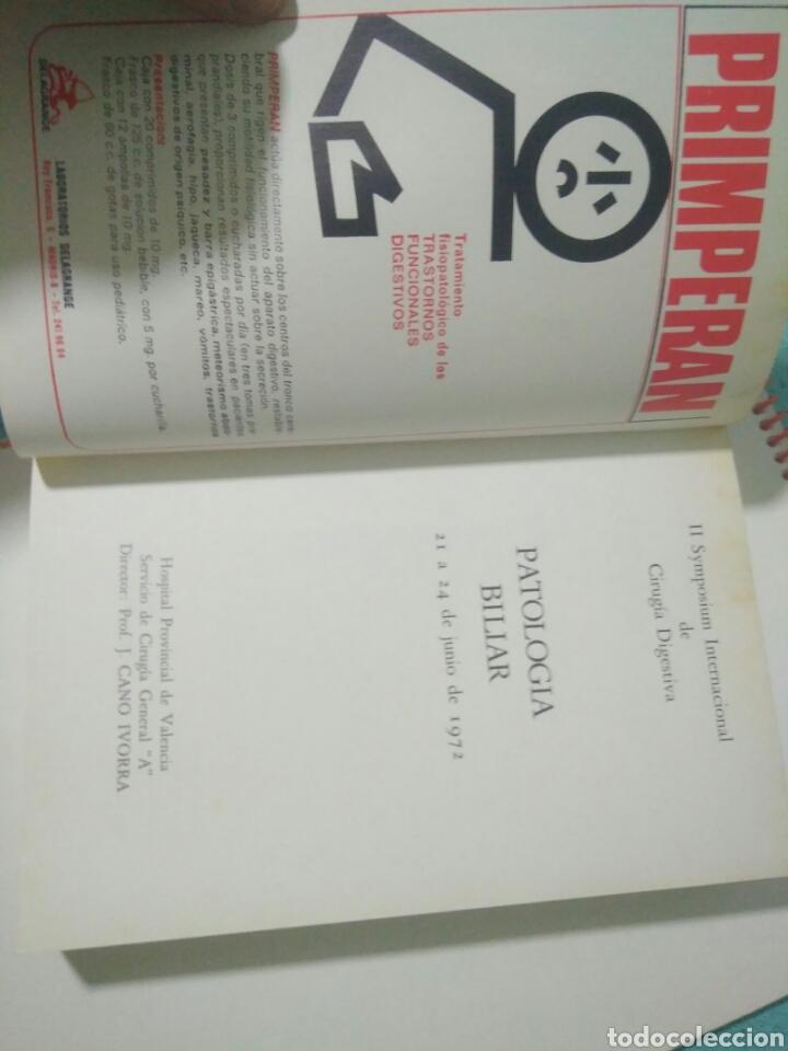 Libros de segunda mano: PATOLOGIA BILIAR II SYMPOSIUM INTERNACIONAL CIRUGIA DIGESTIVA.HOSP VALENCIA.J. CANO IVORRA 1972 - Foto 2 - 127884075