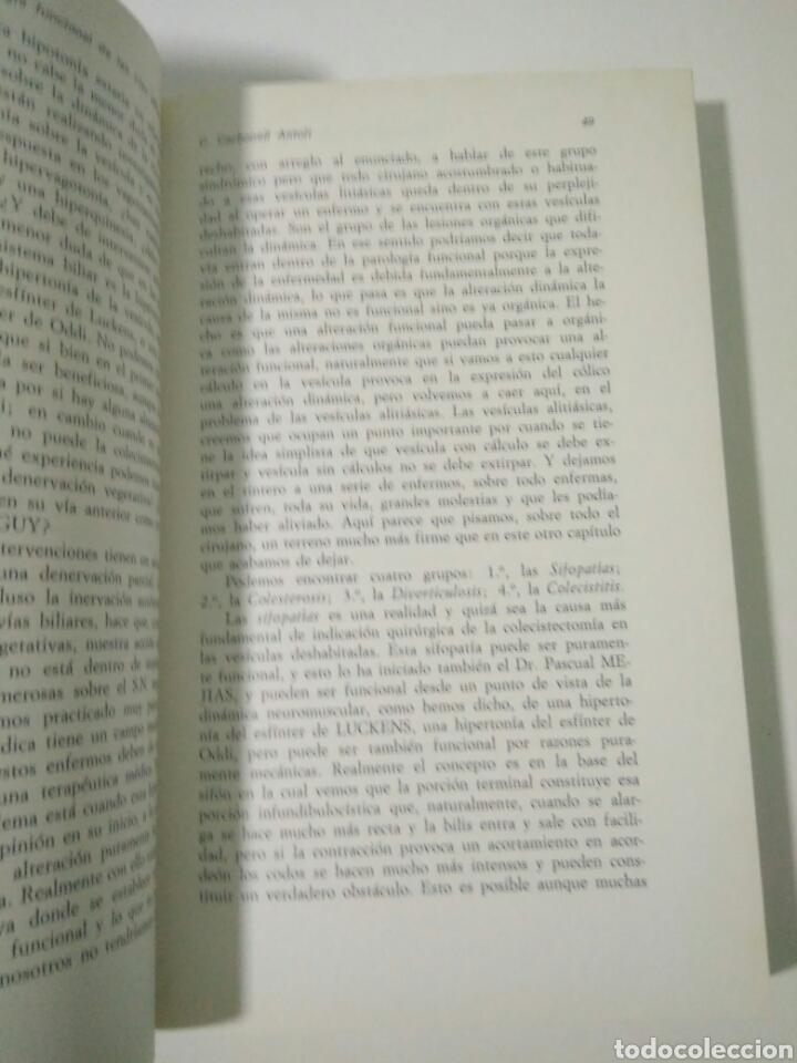 Libros de segunda mano: PATOLOGIA BILIAR II SYMPOSIUM INTERNACIONAL CIRUGIA DIGESTIVA.HOSP VALENCIA.J. CANO IVORRA 1972 - Foto 3 - 127884075